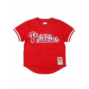 【送料無料】MITCHELL & NESS MESH BP-DARREN DAULTON #10 PHILLIES【7339-420-93DDAU-RED】