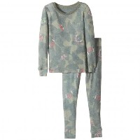 ピージェイサルベージキッズ バタフライ セット P.J. Salvage Kids Butterfly Jammie Set (Toddler/Little Kids/Big Kids)