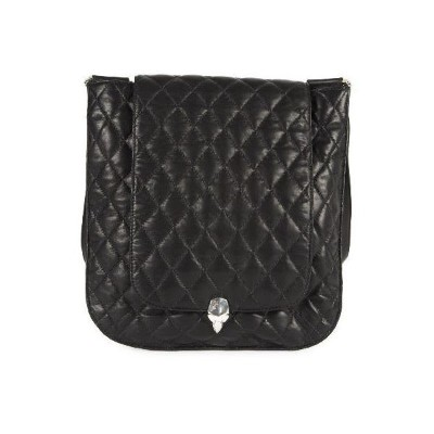 CHROME HEARTS LONG MESSENGER BAG QUILTED クロムハーツ LONG メッセンジャーバッグ キルテッドレザー
