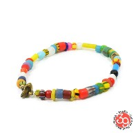 Sunku/39サンクSK-078 Christmas Beads Anklet (L Beads) アンティークビーズアンクレットAnklet/アンクレットSilver925/シルバー/BRASS...