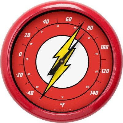 [NJ Croce(NJクローチェ)] The Flash - Logo 10 Outdoor Thermometer