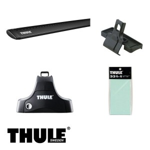 THULE/スーリー ボルボ S60 '00~ RB# キャリア 車種別セット/754+962B+1387