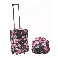 Rockland ロックランド ラゲッジ 旅行バッグ キャリーバッグ 2点セット Luggage 2 Piece Printed Luggage Set, Pucci, Medium