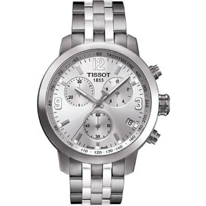 ティソ Tissot 腕時計 メンズ 時計 Tissot PRC 200 Chronograph Mens Watch - Stainless Steel