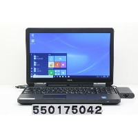 DELL Latitude E5540 Core i5 4300U 1.9GHz/8GB/320GB/Multi/15.6W/FWXGA(1366x768)/Win10【中古】【20171013】