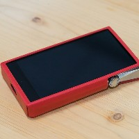 Astell&Kern A&ultima SP1000 専用 革ケース サニーレッド [AK-SP1000-CASE-RED Sunny Red]