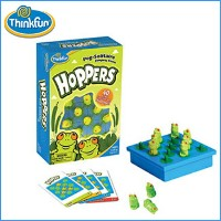 ホッパーズ HOPPERS (CAST JAPAN)ThinkFun Peg-Solitaire