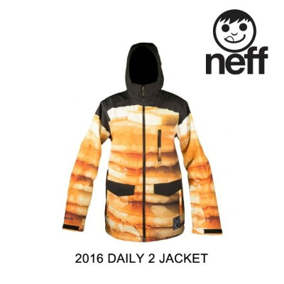 2016 NEFF ネフ ジャケット DAILY 2 MENS JACKET PANCAKES