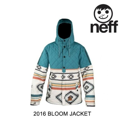 2016 NEFF ネフ ジャケット BLOOM JACKET CAMP