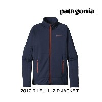 2017 PATAGONIA パタゴニア ジャケット R1 FULL-ZIP JACKET NVYB NAVY BLUE