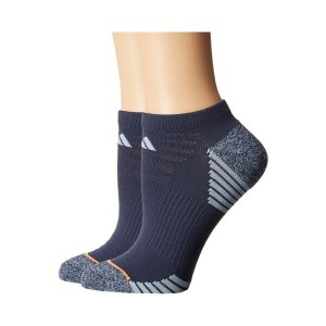 アディダス レディース インナー・下着 ソックス【Superlite Speed Mesh 2-Pack No Show Socks】Midnight Grey/Easy Blue/Grey...