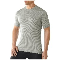 スマートウール メンズ トップス Tシャツ【Smartwool NTS Micro 150 Pattern Tee】Silver Grey Heather