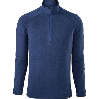 パタゴニア メンズ トップス【Capilene Thermal Weight Zip - Neck Tops】Viking Blue/Navy Blue X-dye