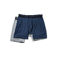 ジョッキー Jockey メンズ インナー ボクサーパンツ・トランクス【Sport Outdoor Boxer Brief】Midnight Heather/Grey Heather Winds