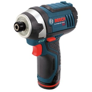 Bosch PS41-2A 12-Volt マックス Lithium-イオン 1/4-インチ Hex Impact ドライバー キット with 2 Batteries, Charger and...