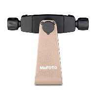 Mefoto MPH100A スマート Phone Holder with Camera Support - ゴールド (海外取寄せ品)