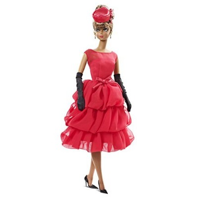Barbie Collector BFMC, Red Dress African-American Doll by Barbie