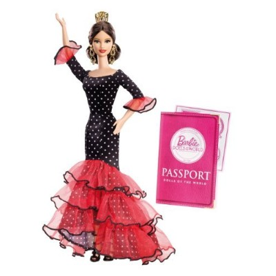 ホビー Barbie バービー Collector doll ドール 人形 s of The World-Spain doll ドール 人形