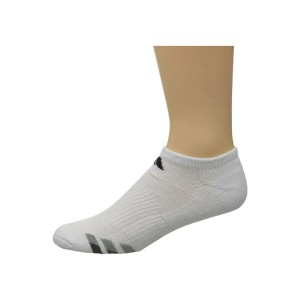 アディダス メンズ インナー・下着 ソックス【Cushion 3-Pack No Show Socks】White/Black/Granite/Light Onix