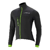 カポ メンズ 自転車 アウター【Capo Pursuit Thermal Jacket】Black / Green