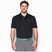 アンダーアーマー メンズ ポロシャツ トップス Men's Under Armour Tech Golf Polo Black/Graphite/Graphite