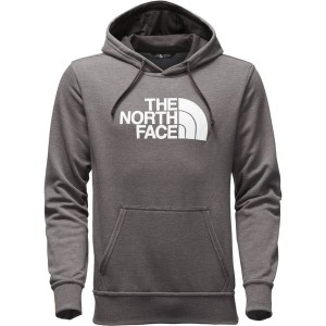 ノースフェイス メンズ パーカー&スウェット アウター The North Face Half Dome Pullover Hoodie - Men's Tnf Medium Grey Heather/Tnf White