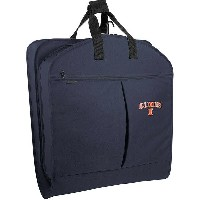 "ウォーリーバッグ メンズ スーツケース バッグ University of Illinois Fighting Illini 40"" Suit Length Garment Bag w/..."