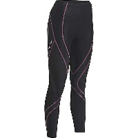 CW-X レディース レギンス ボトムス CW-X Women's Insulator Endurance Pro Tights Black / Soft Pink