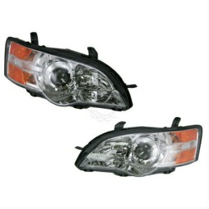 スバル レガシー ヘッドライト Front Headlights Headlamps Lights Lamps Pair Set for 06-07 Subaru Legacy Outback 06...
