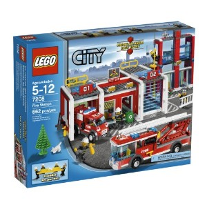 【送料無料】【LEGO City Fire Station (7208)】 b002rl7vqg
