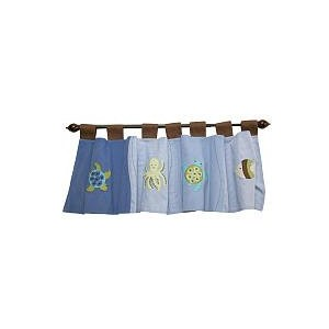 Sea Babies Window Valance by Nojo by Crown Crafts