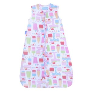 The Gro Company Sweet Dreams Travel Grobag, 0-6 Months, 2.5 TOG by The Gro Company