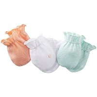 Carter's Baby Girl's Scratch Mittens Size: 0-3 Months Color: Multicolor Model: 1032110baby-girls by...