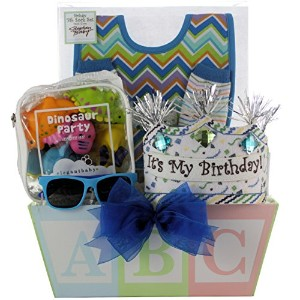 GreatArrivals Gift Baskets Baby's 1st Birthday, Boy by GreatArrivals Gift Baskets