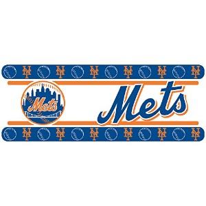 New York Mets Self Stick Wall Border Accent Roll