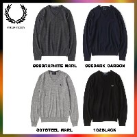 FRED PERRY フレッドペリー Vネック セーター K7210 CLASSIC TIPPED V NECK SWEATER