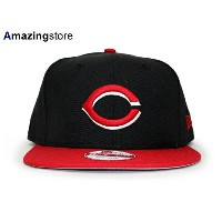 NEW ERA CINCINNATI REDS 【REPLICA ALTERNATE SNAPBACK/BLK-RED】 ニューエラ シンシナティ レッズ [18_1RE]