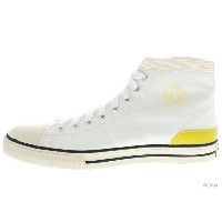 "【US10】visvim KIEFER-HI CANVAS ""村上隆 x FRAGMENT"" vsekk0002-02 white/single flower ヴィズヴィム 未使用品【中古】"