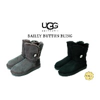 UGG BAILEY BUTTON BLING アグ ベイリーボタンブリング 撥水加工 ムートンブーツ
