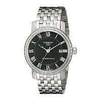 ティソ Tissot 腕時計 メンズ 時計 Tissot Men's T0974071105300 Bridgeport Analog Display Swiss Automatic Silver...