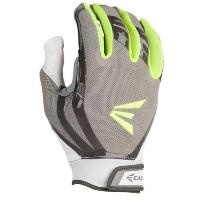イーストン レディース 野球 グローブ【Easton HF Fastpitch Turboslot Batting Gloves】Grey/White