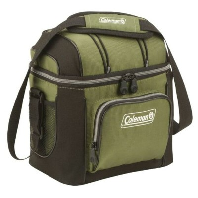 Coleman 9-Can Soft Cooler With Hard Liner アウトドア クーラーボックス