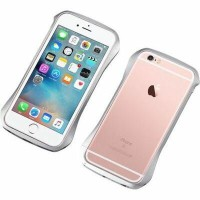 Deff Cleave Aluminum Bumper for iPhone6/6S Cosmic Silver DCB-IP6SA6SV