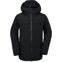 ボルコム メンズ スキー スポーツ Stone Gore-Tex Hooded Jacket - Men's Black