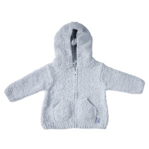 Kashwere Baby Hooded Jacket, Blue, 6-12 Month Size: 6-12 Months Model: BH-51-15-62 (Newborn, Child,...