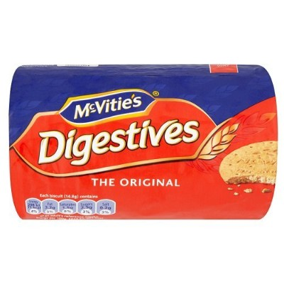 McVitie's Digestive Biscuits (250g) マクビティ消化ビスケット( 250グラム)