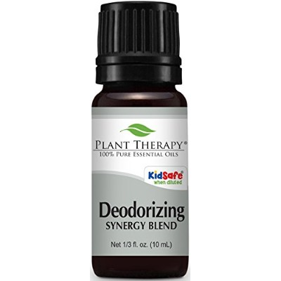 Deodorizing Synergy Essential Oil 10 ml (1/3 oz). 100% Pure, Undiluted, Therapeutic Grade (Blend of...