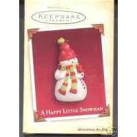 Hallmark Ornament 2005 a Happy Little Snowman by Hallmark [並行輸入品]