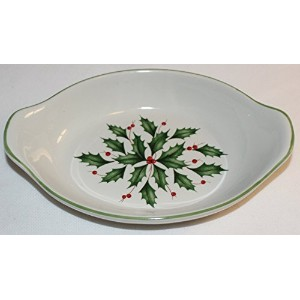 Lenox American ByデザインHoliday Mini Appetizer Au Gratin Dish with Handles
