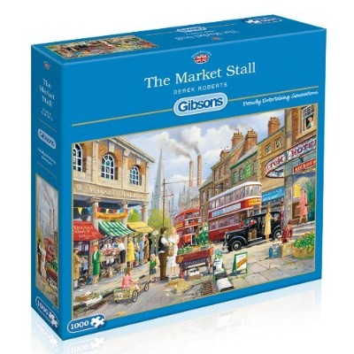 Gibsons The Market Stall Jigsaw Puzzle (1000-Piece) [並行輸入品]